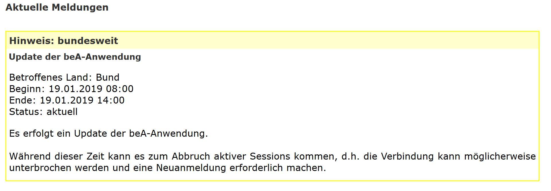 Elektronischer Rechtsverkehr Erv Archive Bea Abc